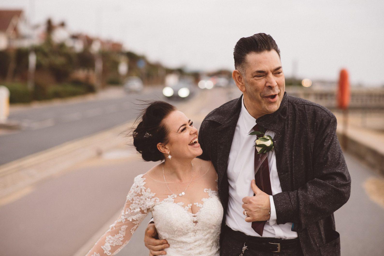 Wedding photographer Roslin Beach hotel