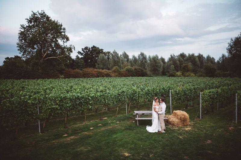 vineyard wedding in Essex