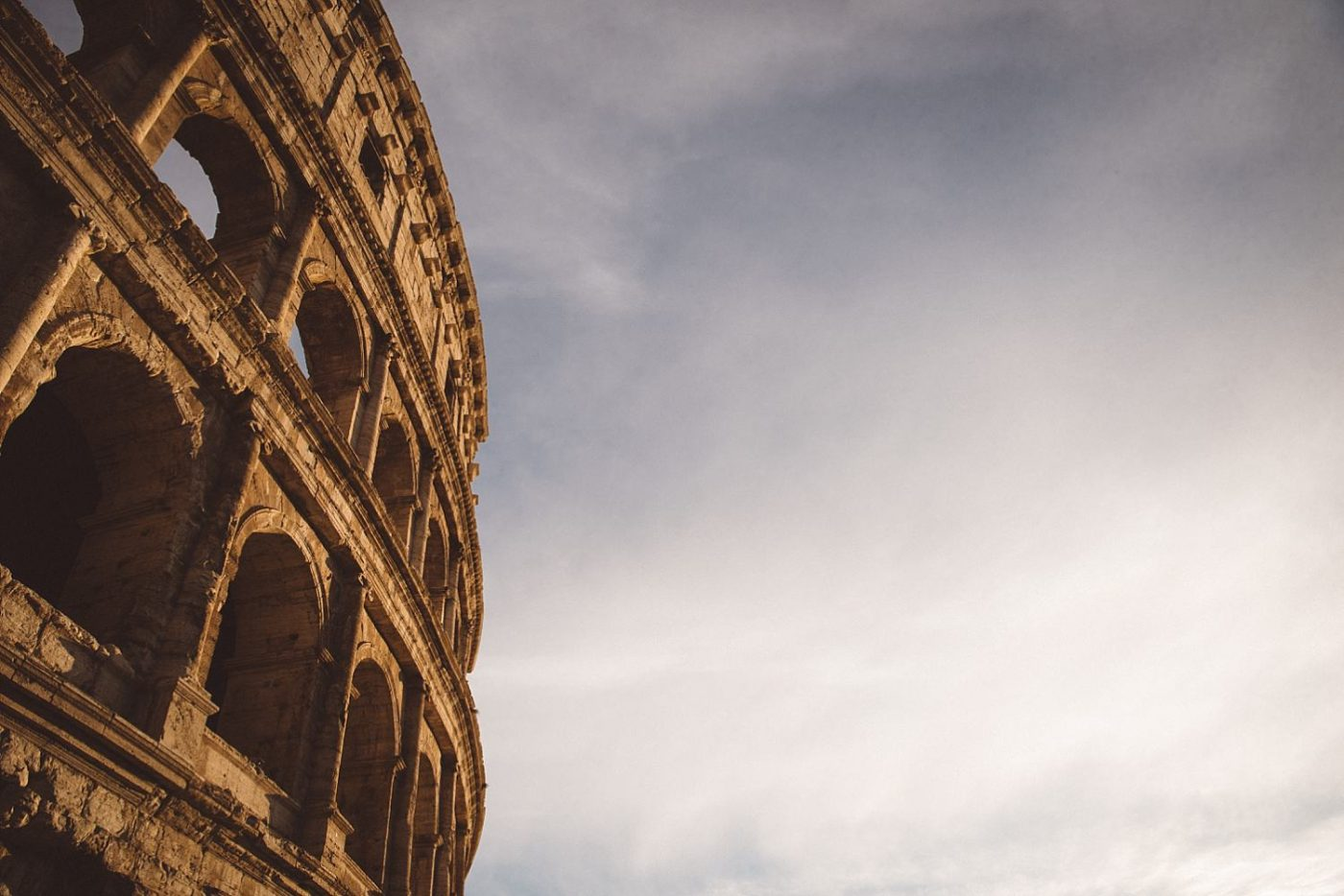 The Colosseum Rome moody photo