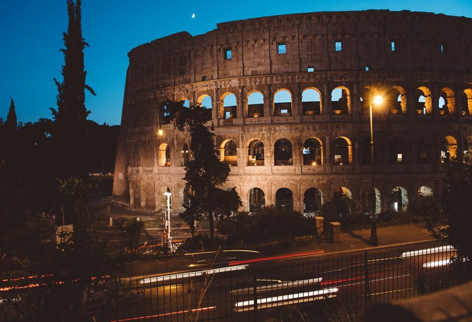 The Colosseum Rome long exposure photography