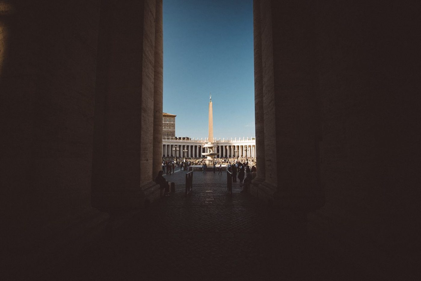 Rome street photography St Peter's Basilica