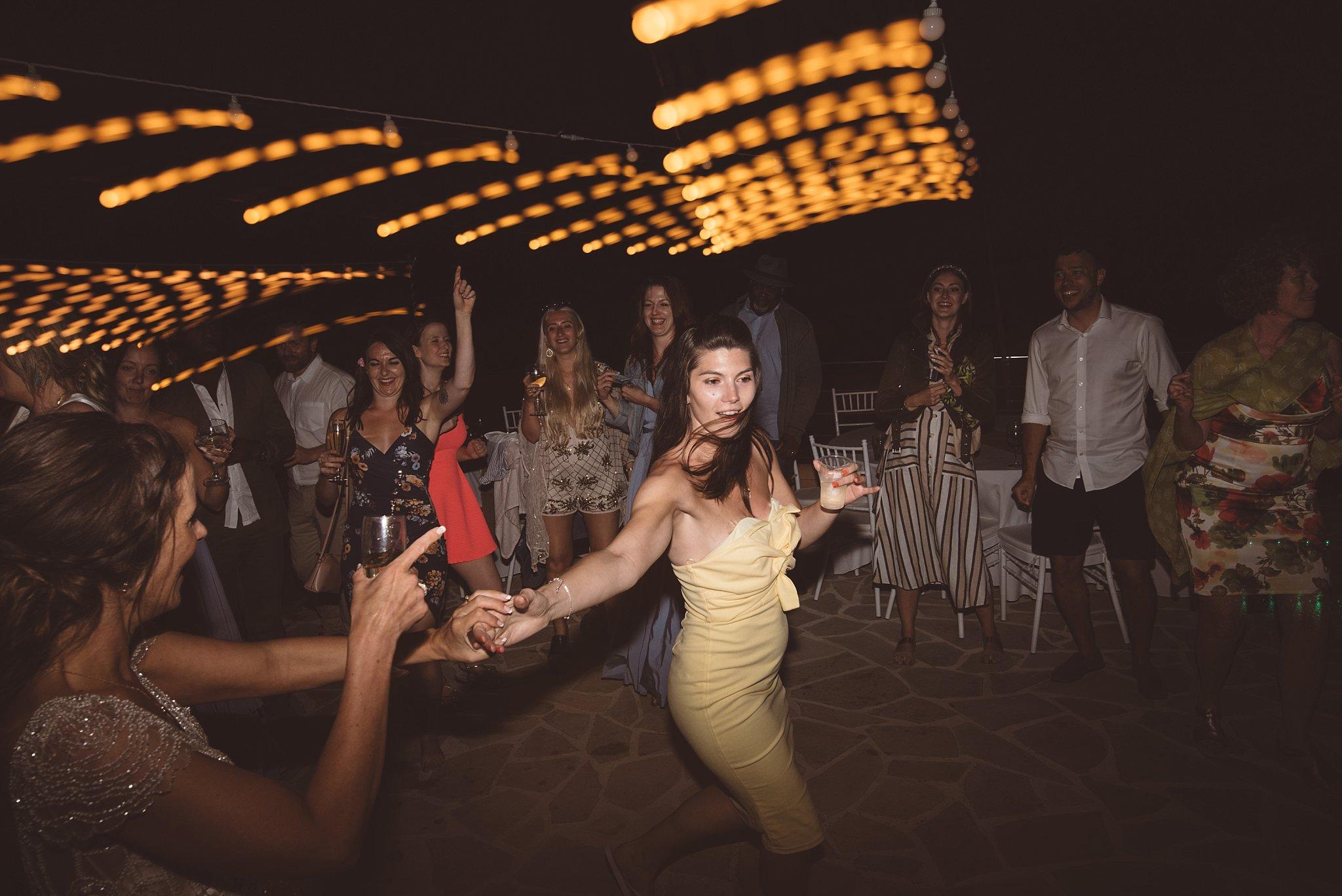 dragging the shutter fun wedding dance floor