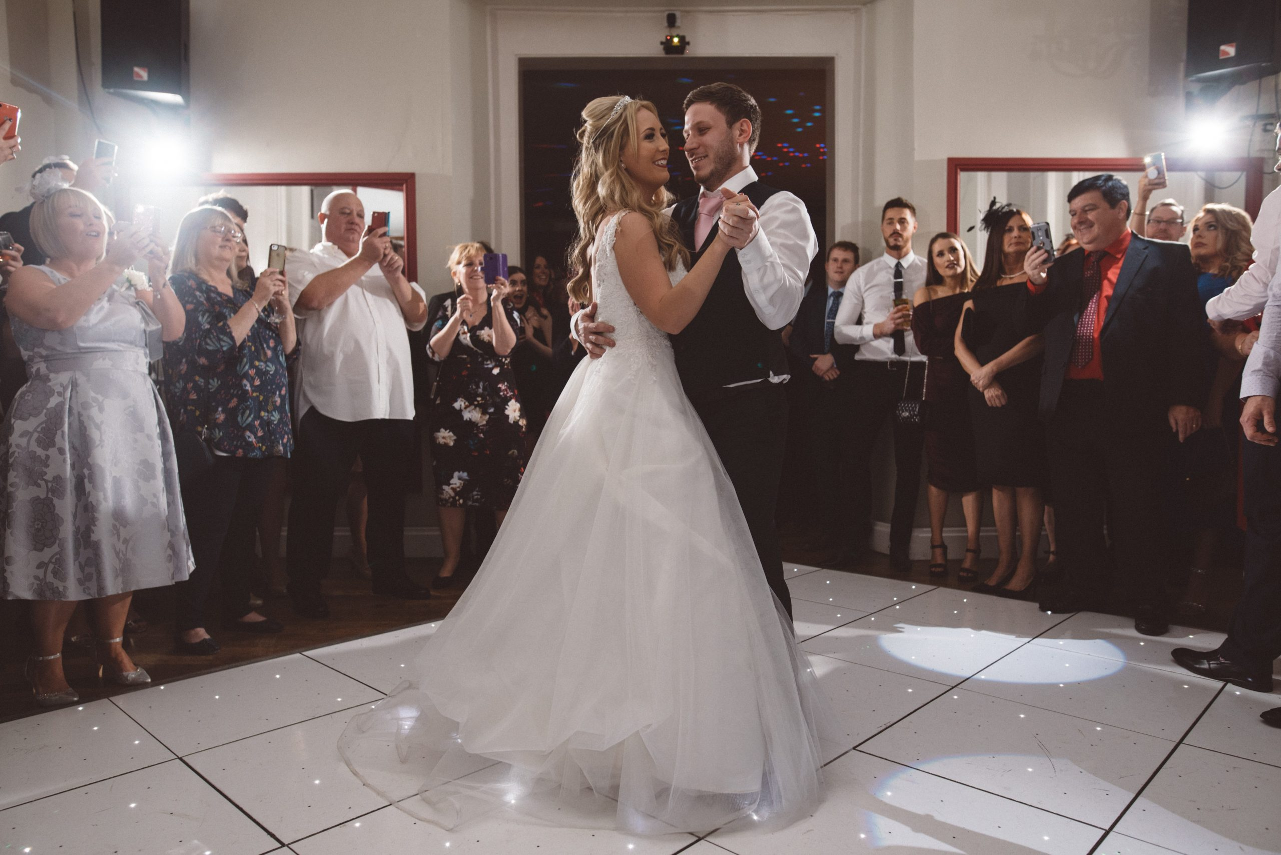 first dance at Gosfield Hall wedding