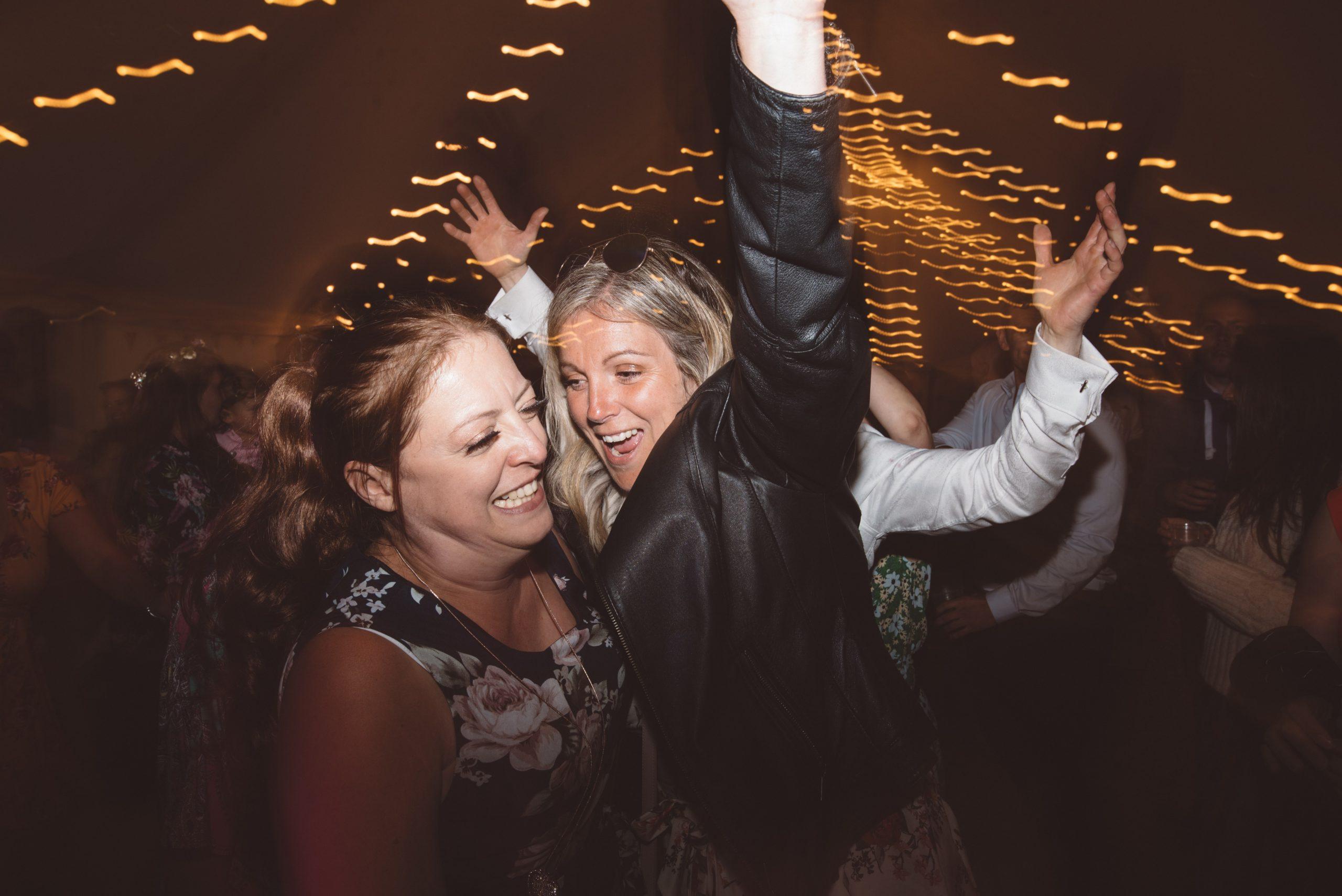Dragging the shutter wedding photography in Devon