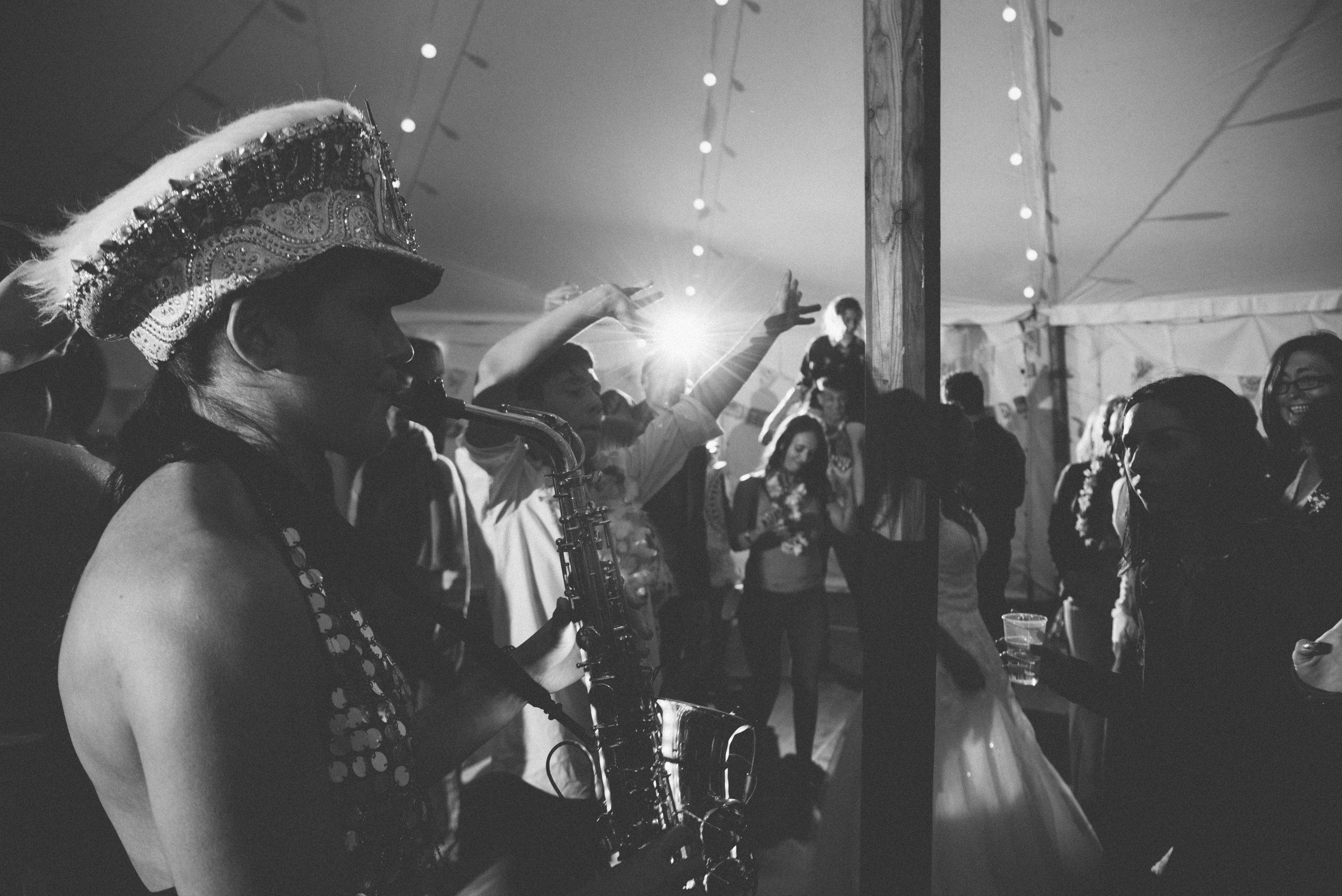 Ellie Sax at Devon Carswell weddings