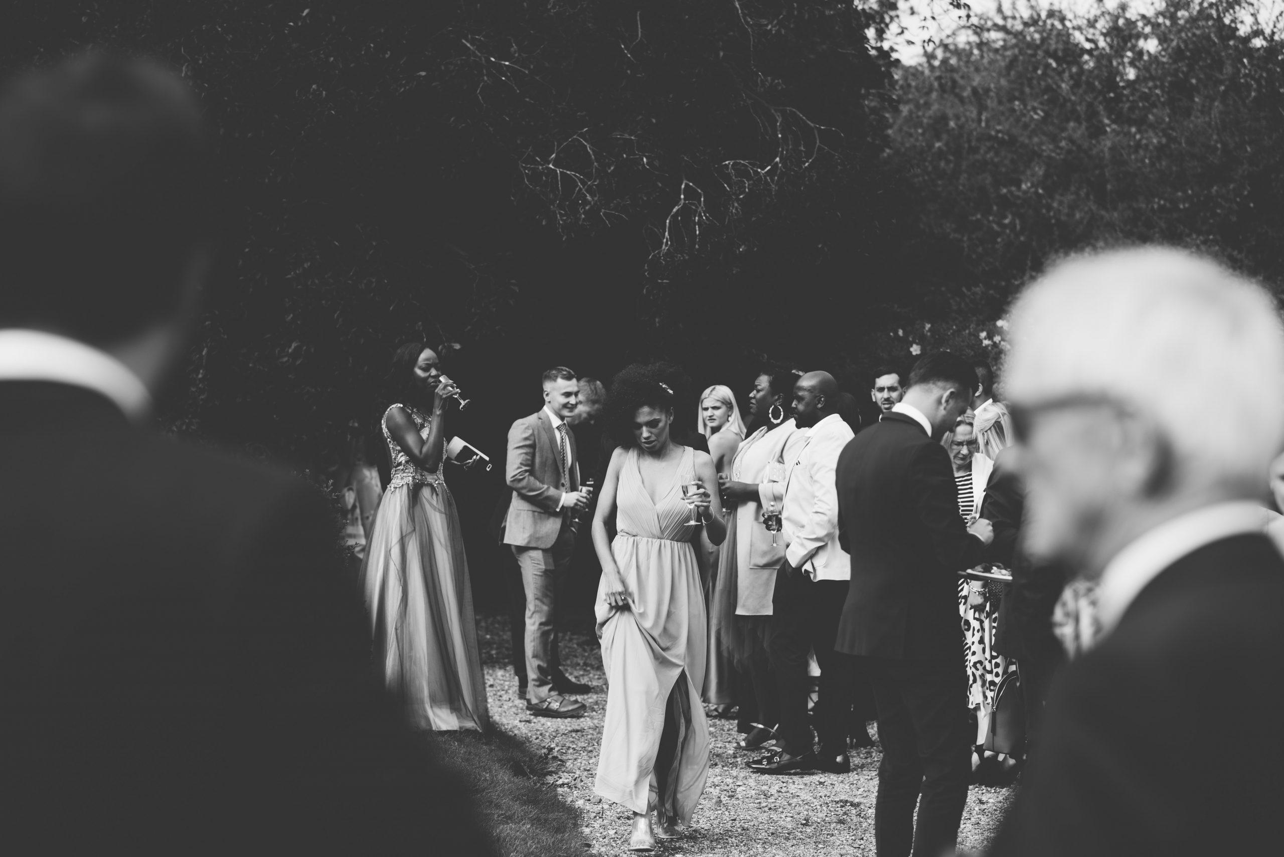 Bridesmaid at Keythorpe Manor