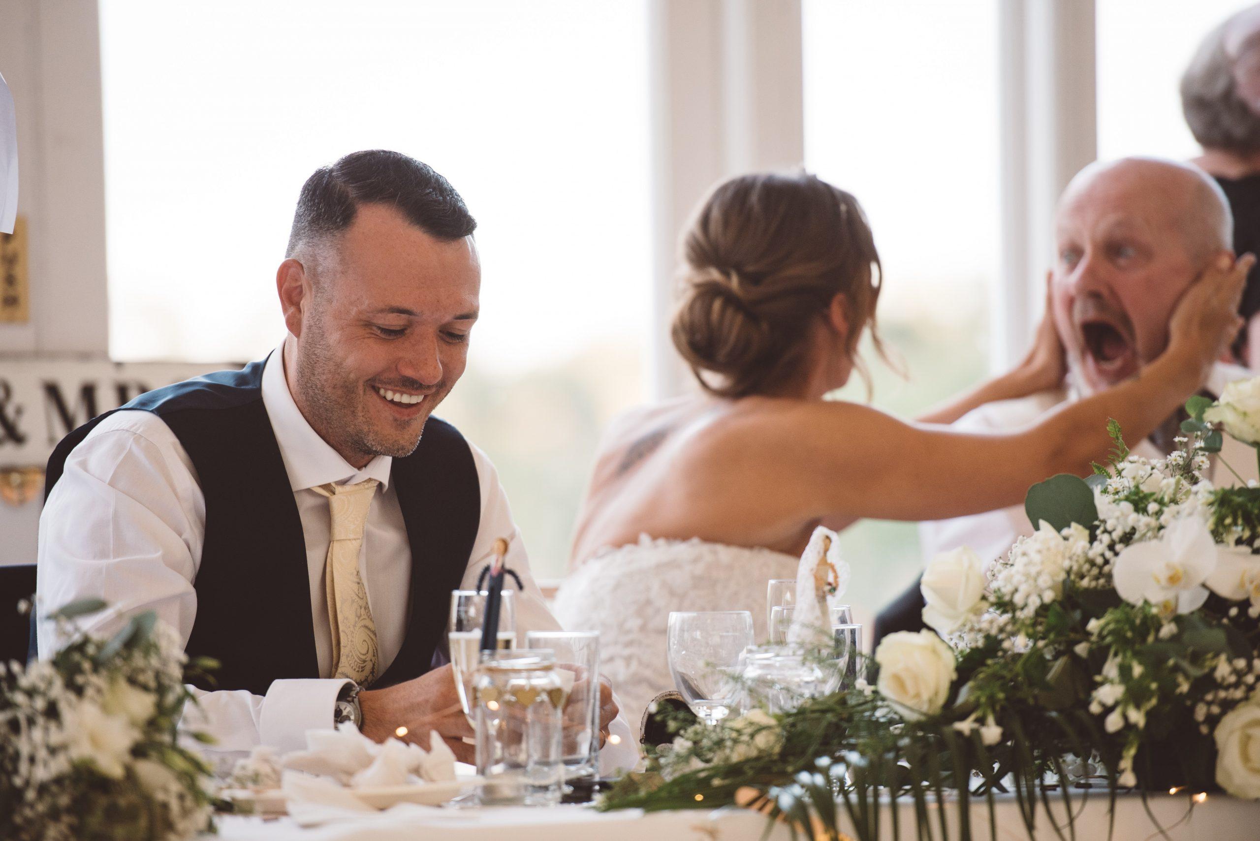 wedding speeches at Keythorpe Manor