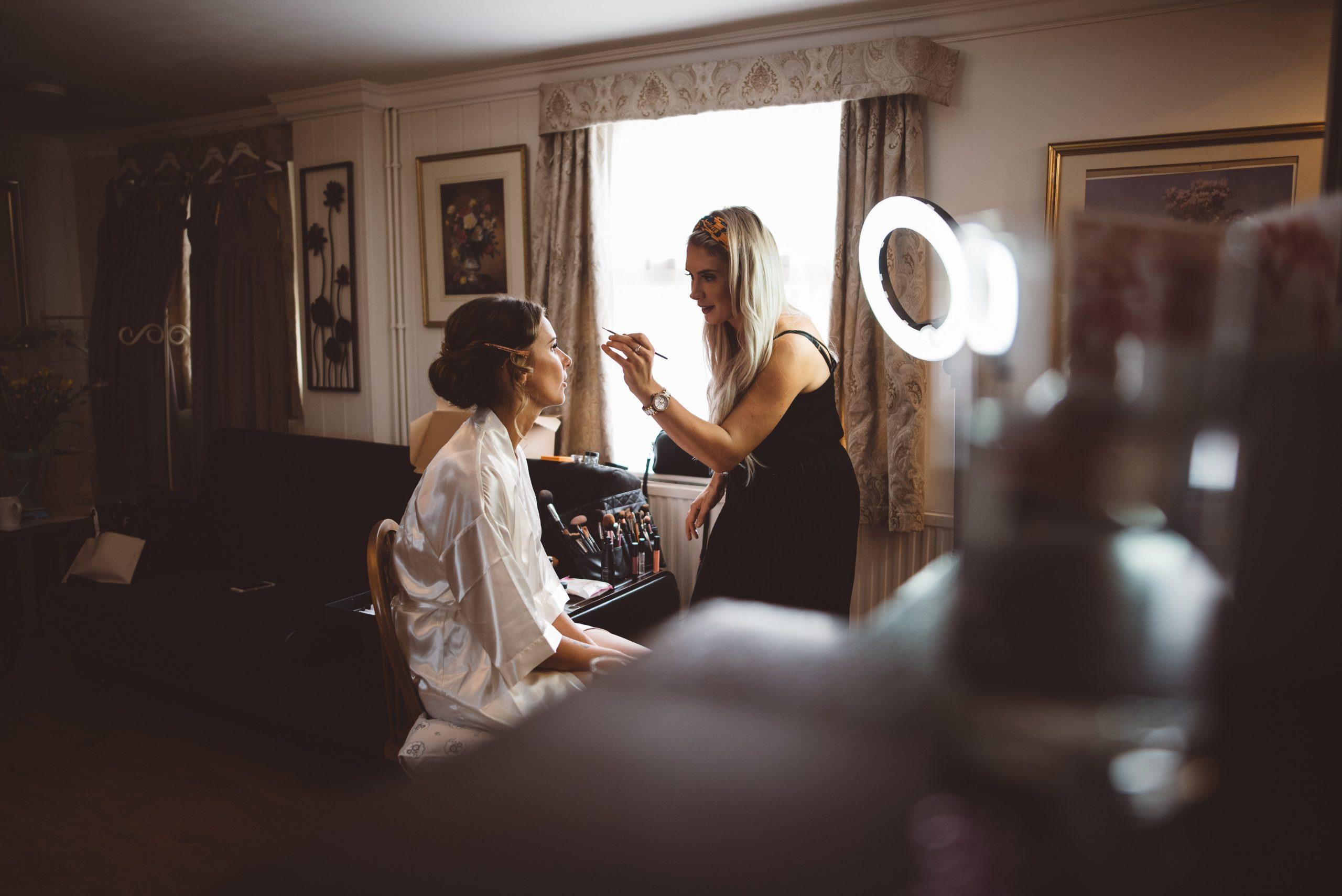 abi draycott makeup wedding MUA