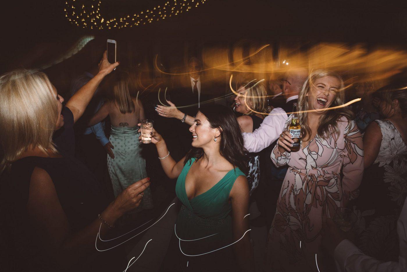 Keythorpe Manor wedding dancefloor