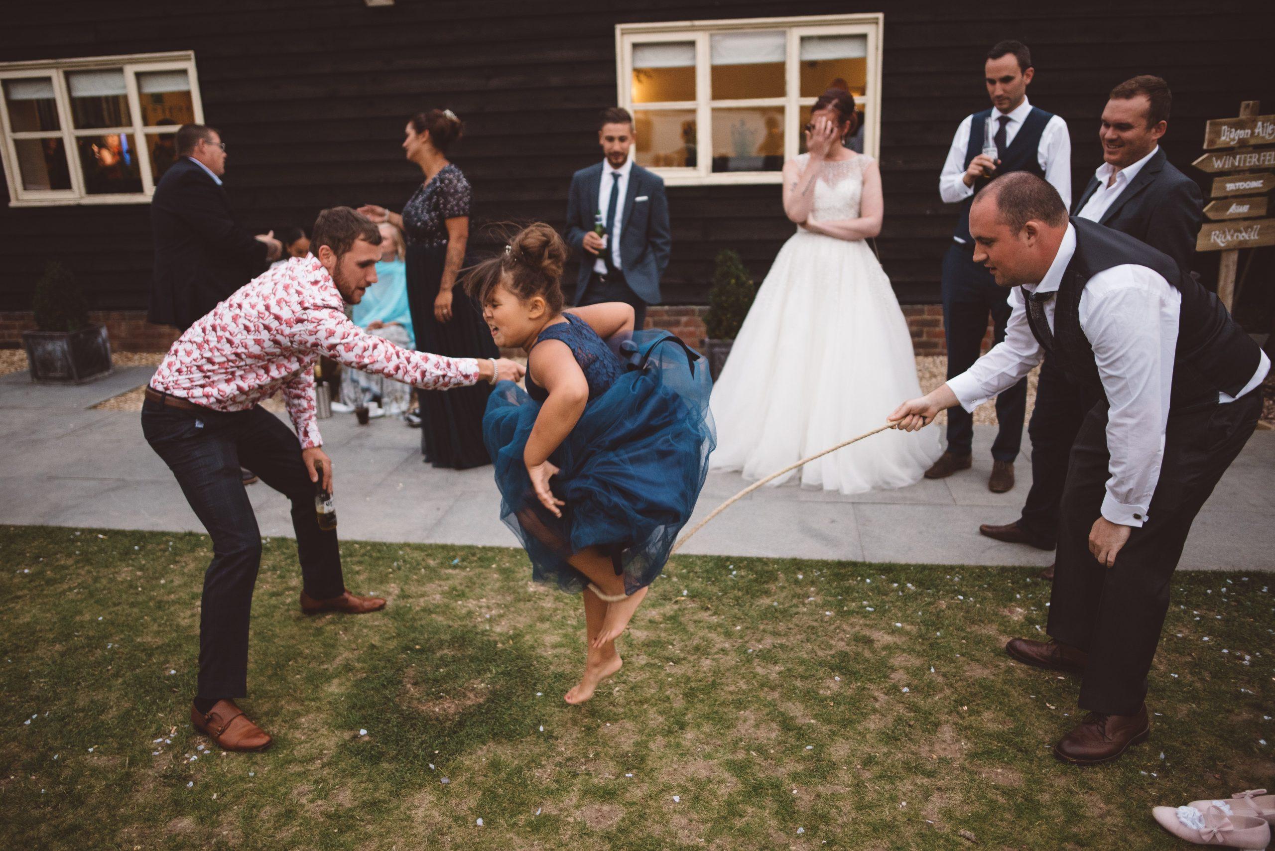 Fleur de Lace wedding games