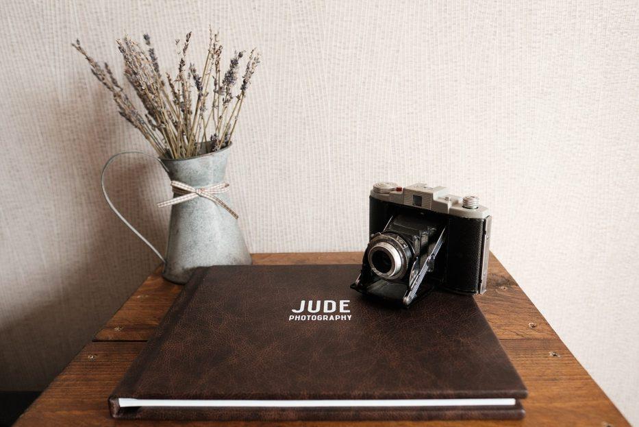 fine print wedding album jude photography