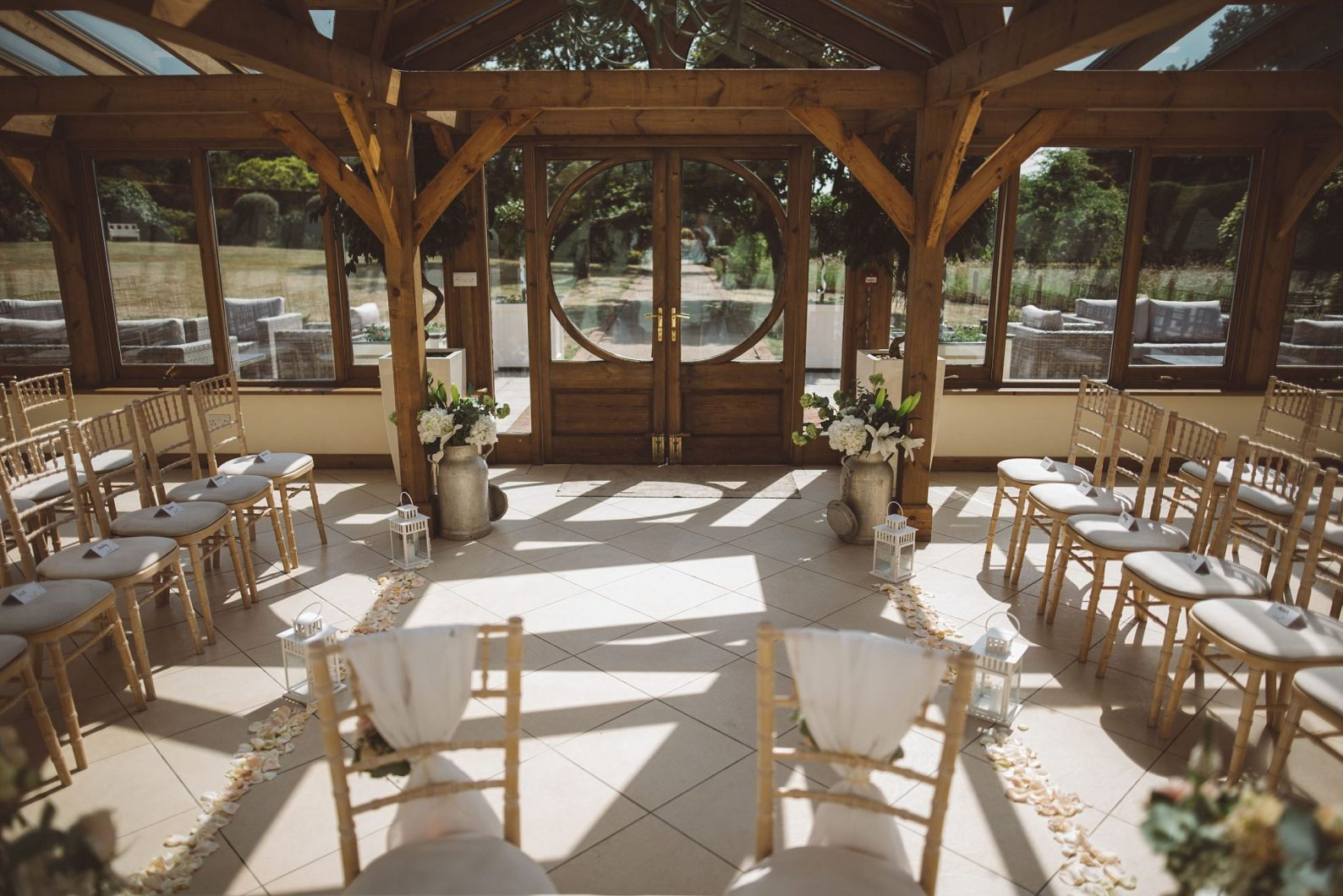 gaynes park wedding