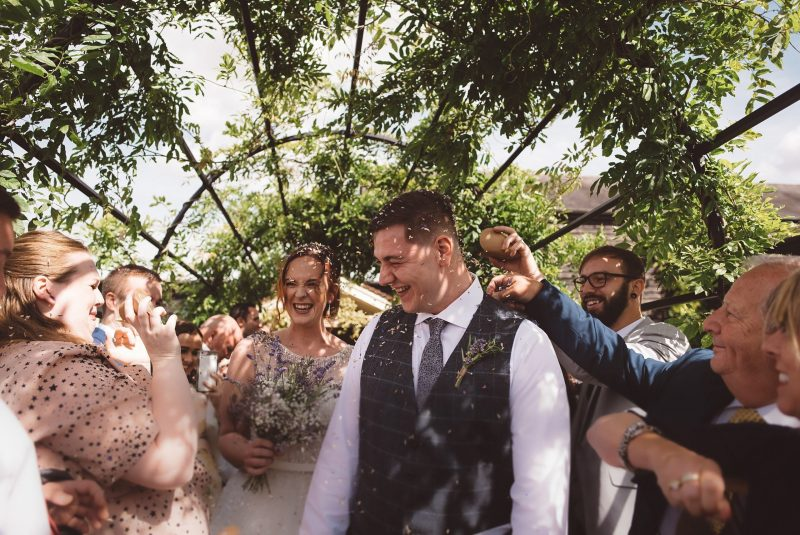 rustic weddings at Milling barn