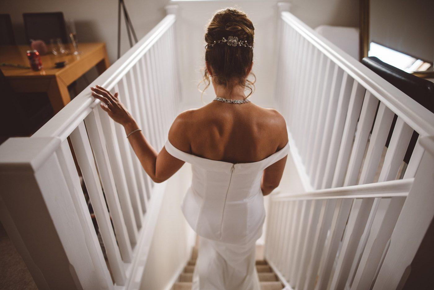Essex Wedding dress details