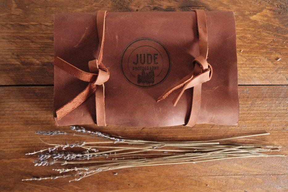 rustic usb wedding gift