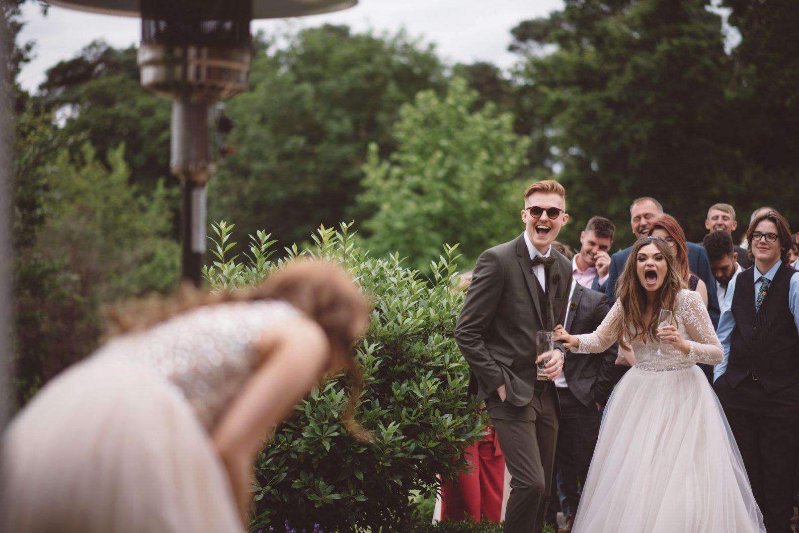 The warren estate wedding
