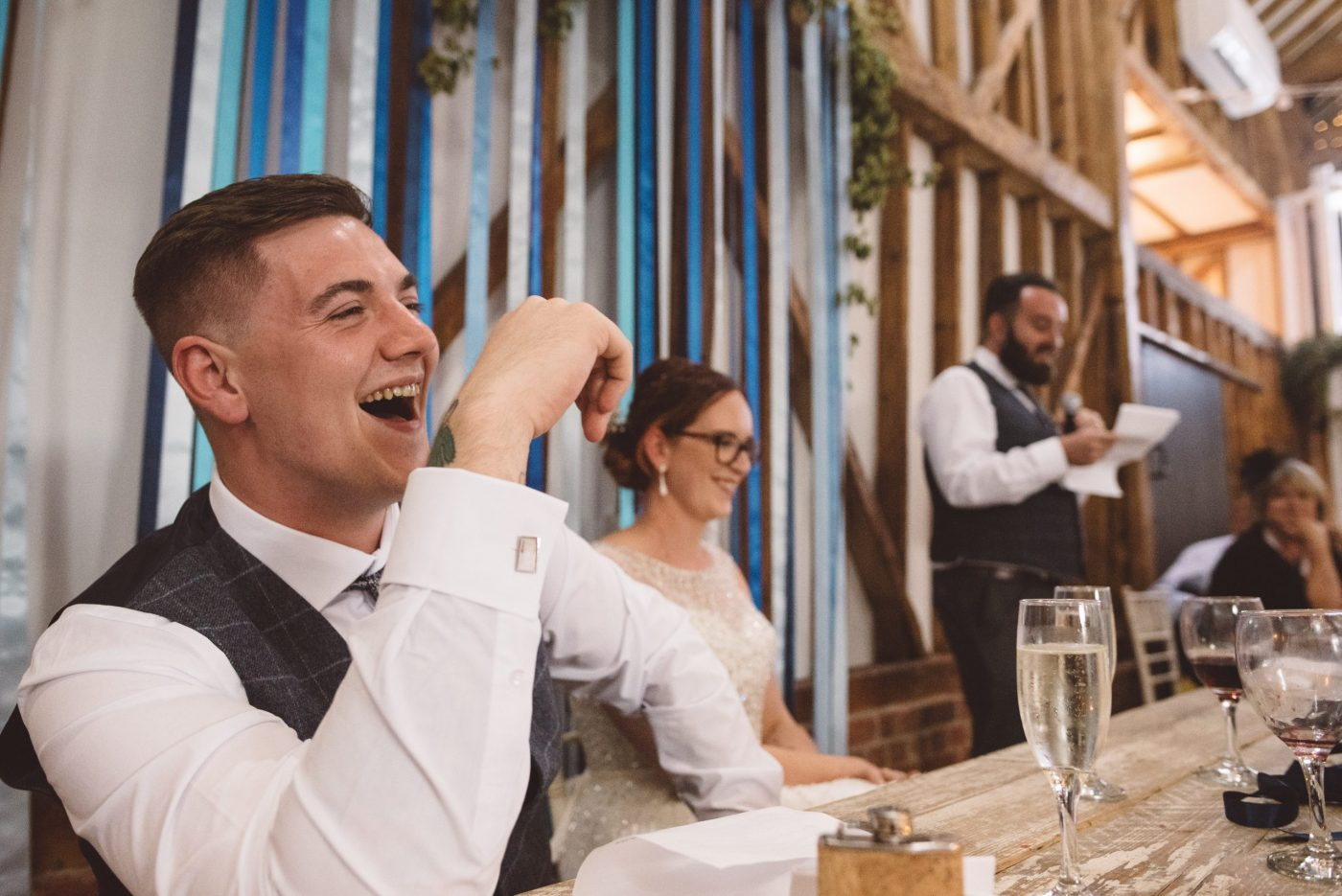 best man speech at Milling barn wedding