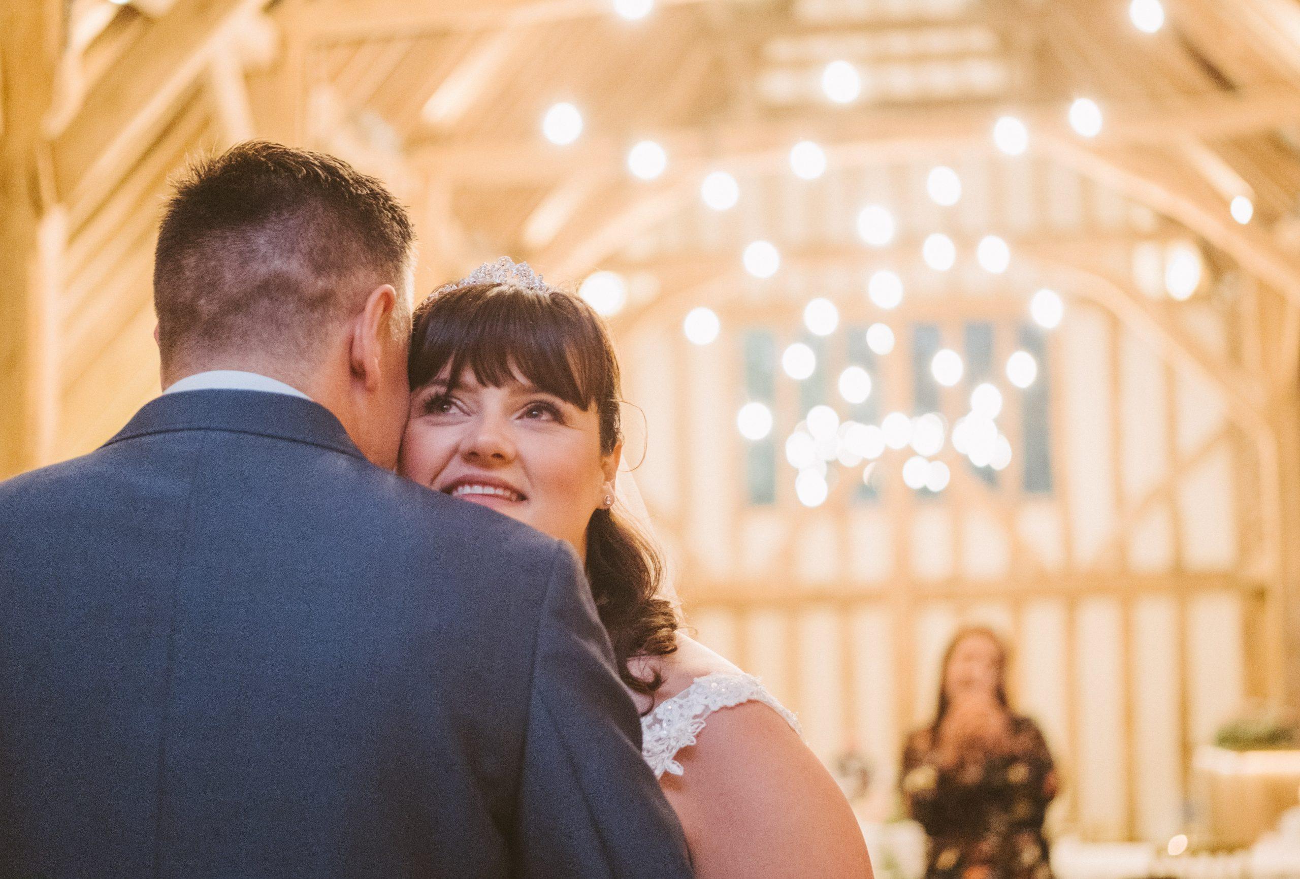 bride and groom first dance at Blake Hall weddings
