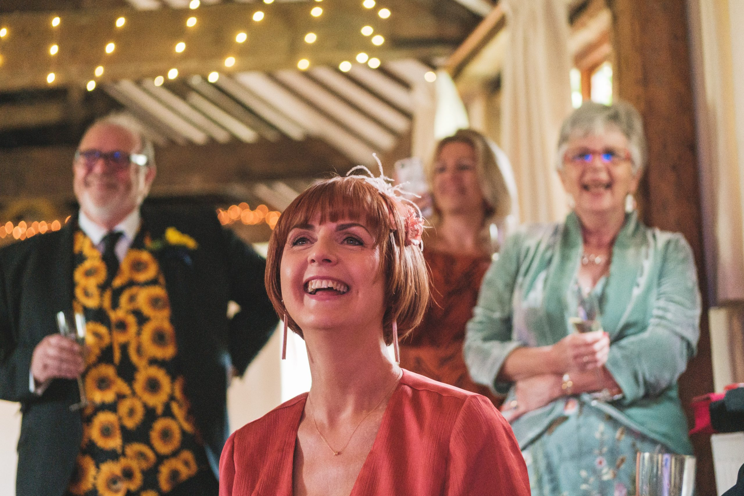 wedding speeches during an Essex wedding