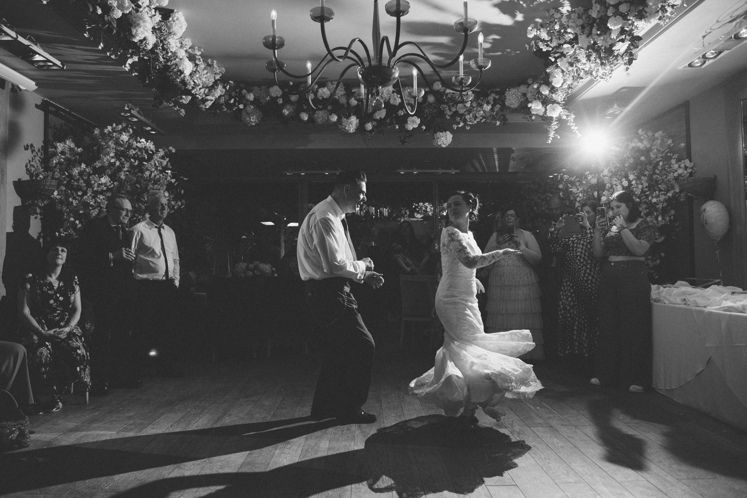 fun essex wedding reception
